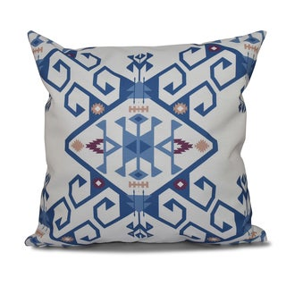 16 x 16-inch Jodhpur Medallion 2 Geometric Print Outdoor Pillow