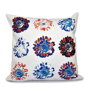 16 x 16-inch Gypsy Floral Floral Print Outdoor Pillow