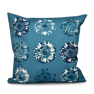 16 x 16-inch Gypsy Floral 2 Floral Print Outdoor Pillow