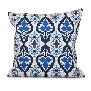 16 x 16-inch Bombay Geometric Print Outdoor Pillow