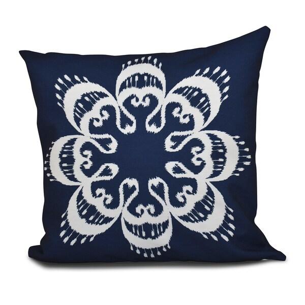 Shop 16 X 16 Inch Ikat Mandala Geometric Print Outdoor