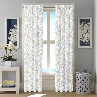 Nautica Crosslake Cotton Twill Curtain Panel Set