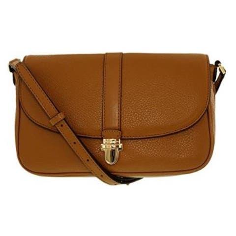 Michael Kors Charlton Acorn Brown Large Crossbody Handbag
