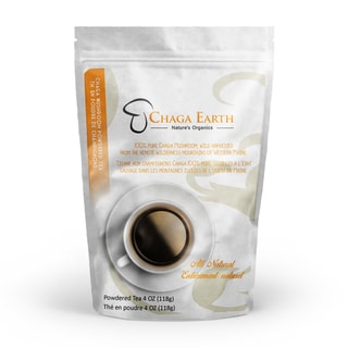 Chaga Mushroom 4-ounce Powdered Loose Tea
