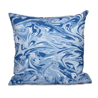 16 x 16-inch Mlange Geometric Print Outdoor Pillow