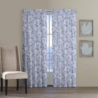 Tommy Bahama Home Island Memory Cotton Curtain Panel Pair
