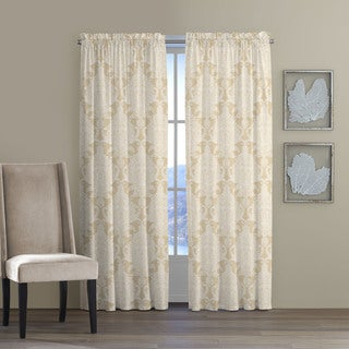 Tommy Bahama Home Pineapple Cape Cotton Curtain Panel Set
