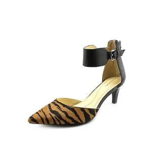 Tahari Women's Ande Hair Calf Ankle Strap Dress Shoes