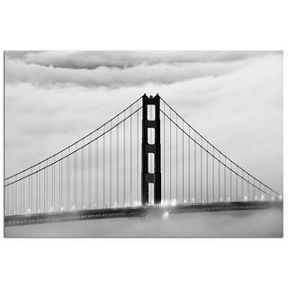 Modern Home Tempered Glass Ultra-high Resolution San Francisco Golden Gate Bridge Wall Art