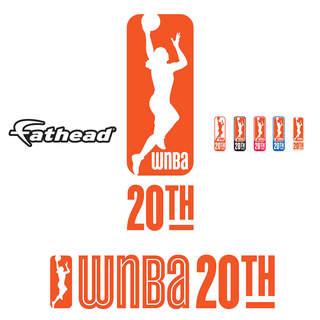 Fathead WNBA 20th Anniversary Logo