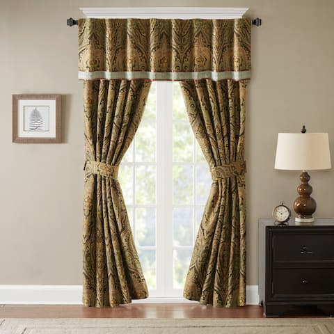 Hampton Hill Canovia Spring Brown Valance