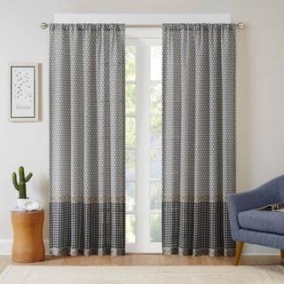 Intelligent Design Weston Printed Multi Pattern Curtain Panel