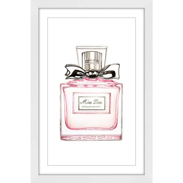 9f9676845 Shop Marmont Hill 'Miss Dior' Framed Painting Print - On Sale - Free ...