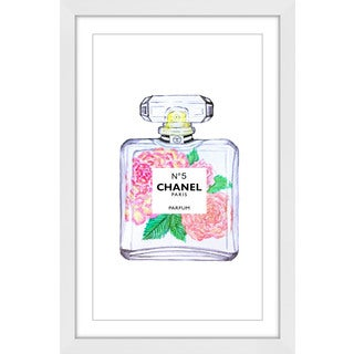 Marmont Hill 'Chanel Peony' Framed Painting Print