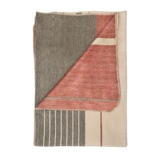 'Terracotta' Alpaca Blanket (Ecuador)