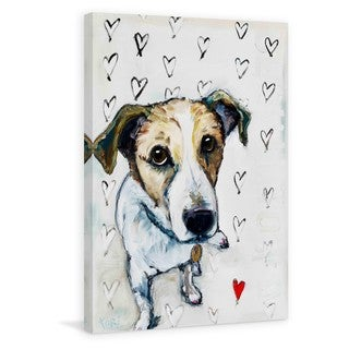 Marmont Hill 'Gus Love' Painting Print on Wrapped Canvas