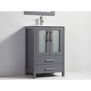 Argentina Grey 30-inch Single-sink Bathroom Vanity Set