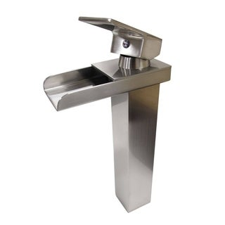 MTD Vanities Gullfoss 8045 11-inch Single-hole Single-handle Waterfall Bathroom Faucet