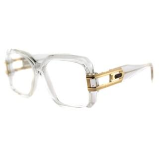 Cazal Cazal 623 065 Legends Crystal Gold Plastic 57-millimeter Square Eyeglasses