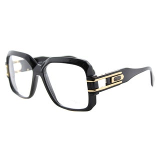 Cazal Cazal 623 001 Legends Shiny Black Gold Plastic 57-millimeter Square Eyeglasses