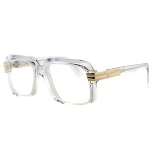 Cazal 607 065 Legends Crystal Gold Plastic 56-millimeter Square Eyeglasses