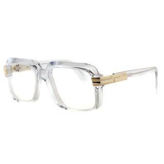 Cazal 607 065 Legends Crystal Gold Plastic 56-millimeter Square Eyeglasses