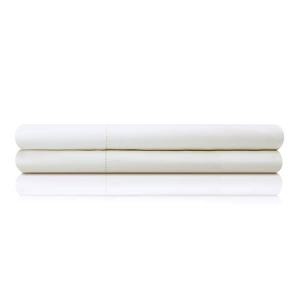 Malouf Hand Finished 100 Percent Egyptian Cotton Percale Italian Sheets