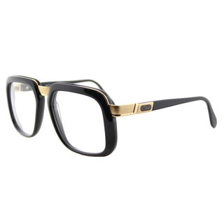 Cazal Cazal Legends Shiny Black and Gold Plastic 56-millimeter Square Eyeglasses
