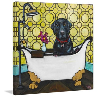 Marmont Hill 'Rub a Dub' Painting Print on Wrapped Canvas