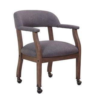 Boss Office Products Driftwood Captain's Guest Arm Chair