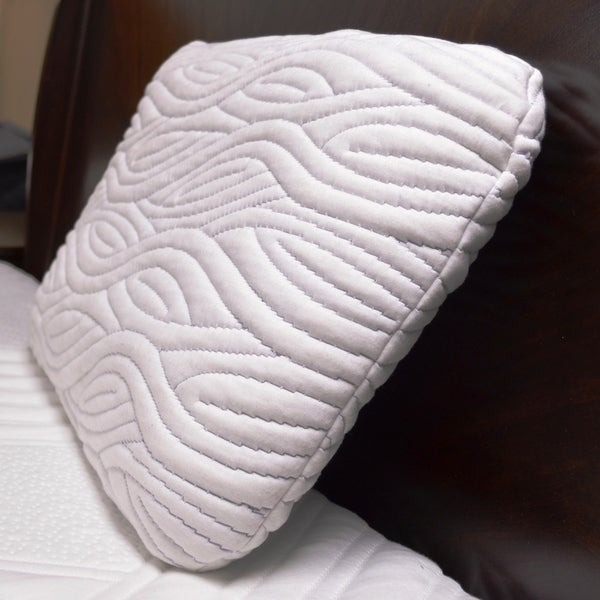 Integrity Bedding 4.5-inch Ventilated Gel Memory Foam Pillow