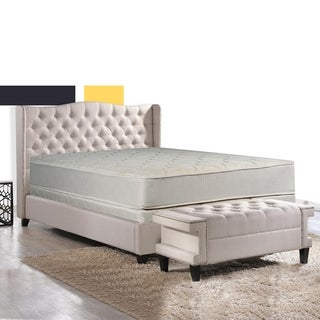 Spring Coil Tight Top Twin-size Innerspring Mattress Set