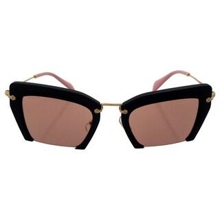 Miu Miu MU 10QS 1BO4M2 Black Sand Miu Miu Women's 54-24-140 mm Sunglasses