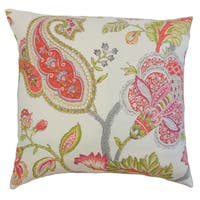 Janne Floral Throw Pillow Cover