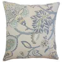 Liora Floral Throw Pillow Cover