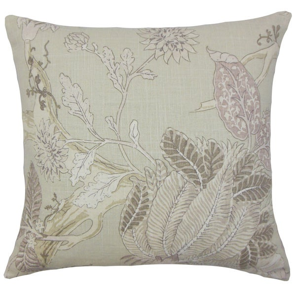Ennis Floral Throw Pillow Cover