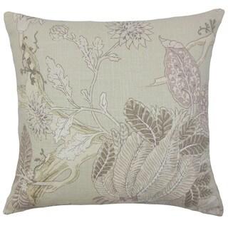 Ennis Floral Throw Pillow Cover