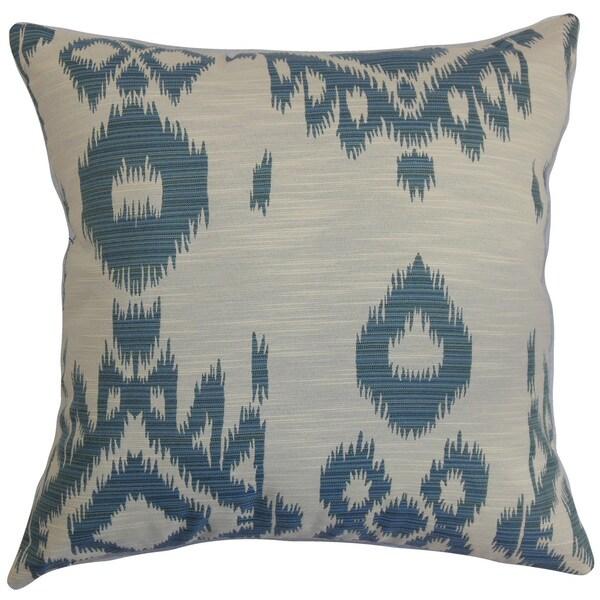 Gaera Ikat Throw Pillow Cover