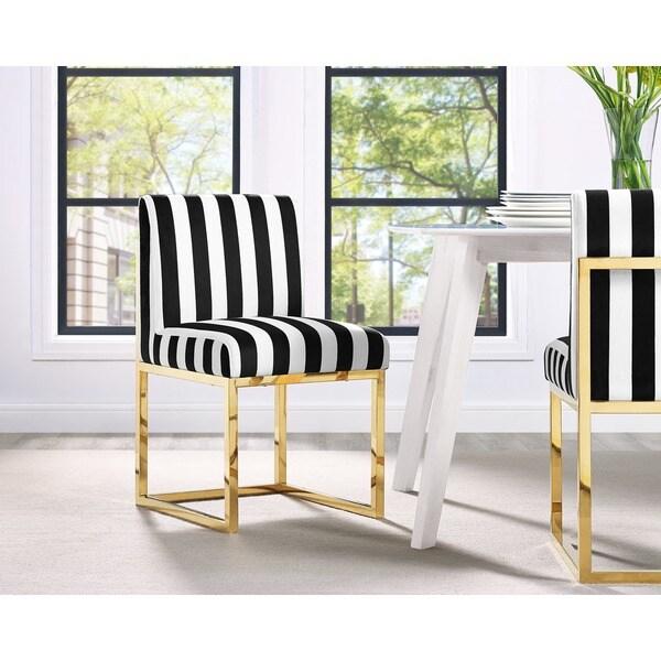 Shop Haute Paris Multicolor Velvet Chair Free Shipping