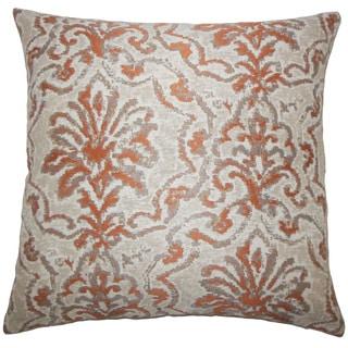 Zain Damask Throw Pillow Cover