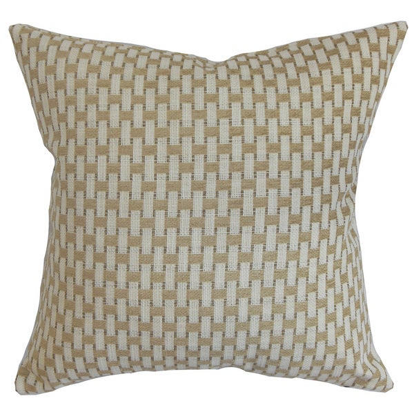 Bar Geometric Throw Pillow Cover