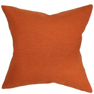 Gumamela Solid Throw Pillow Cover