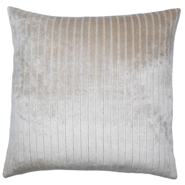 Maaike Striped Throw Pillow Cover Drift