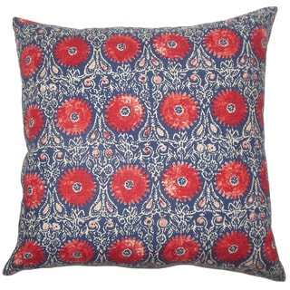 Xaria Floral Throw Pillow Cover - Free Shipping Today - Overstock.com - 18891460