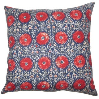 Decorative Pillow Covers Overstock : Xaria Floral Throw Pillow Cover - Free Shipping Today - Overstock.com - 18891460