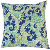 Fiachra Paisley Throw Pillow Cover