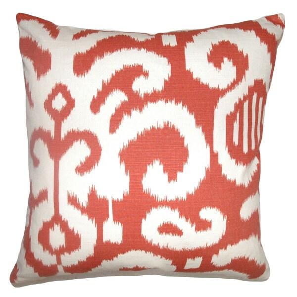 Teora Ikat Throw Pillow Cover