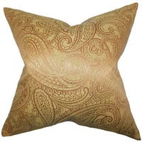 Cel Paisley Throw Pillow Cover