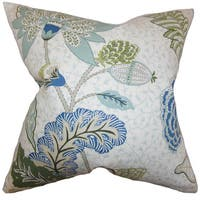 Ahna Floral Throw Pillow Cover