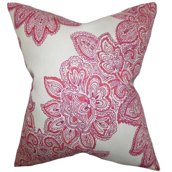 Haldis Floral Throw Pillow Cover